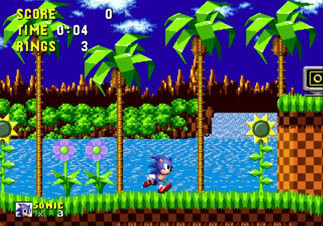 Sonic the Hedgehog - Sega Genesis - Gameplay Screenshot