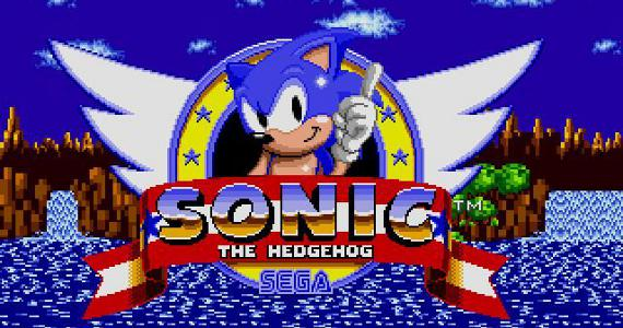 Sonic the Hedgehog - Sega Genesis - Title Screen