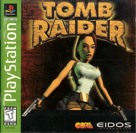 Tomb Raider - Playstation - Box