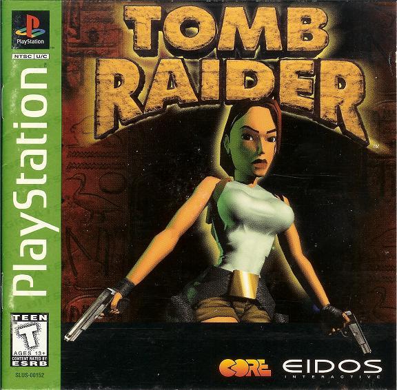 Tomb Raider - Playstation - Box