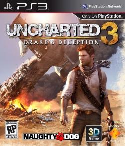 Uncharted 3 boxart