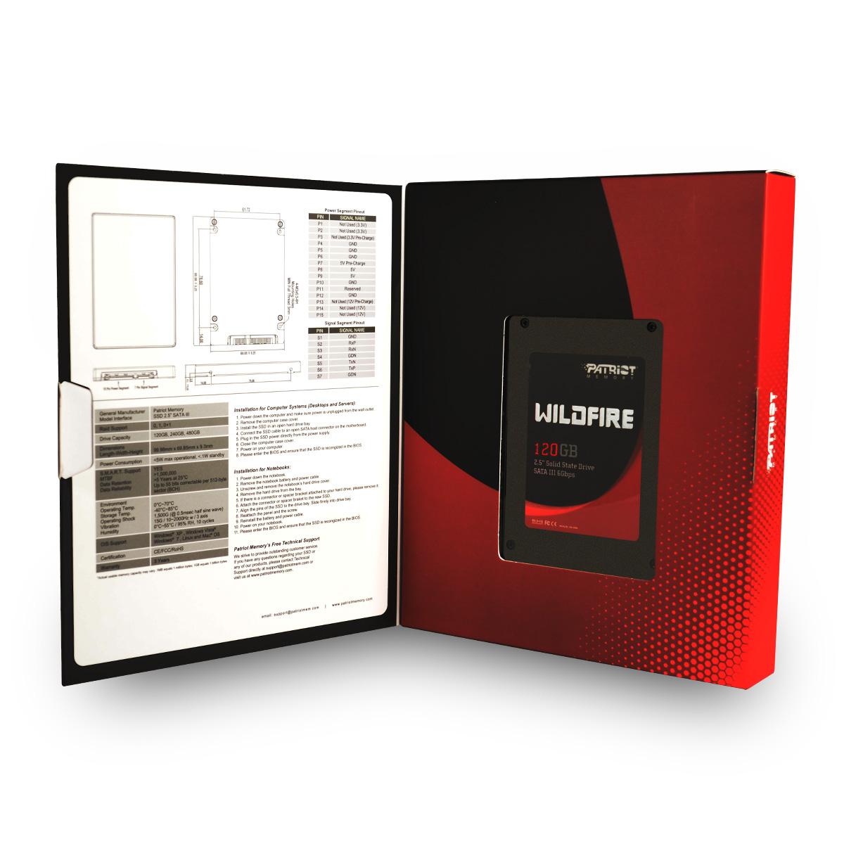 Patriot Memory WildFire 120GB SSD