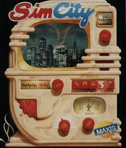 Sim City - PC - Box