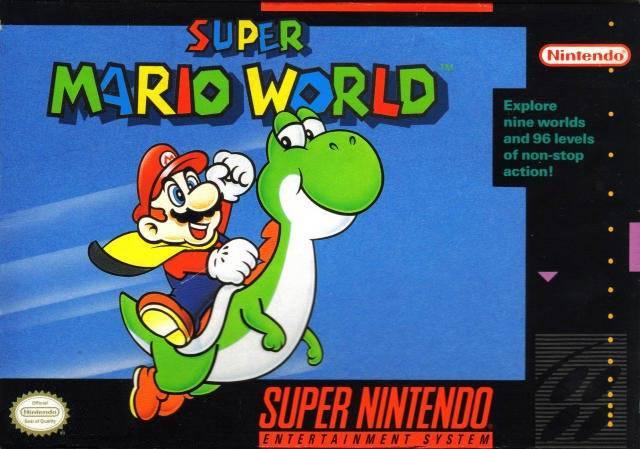 Super Mario World - SNES - Box