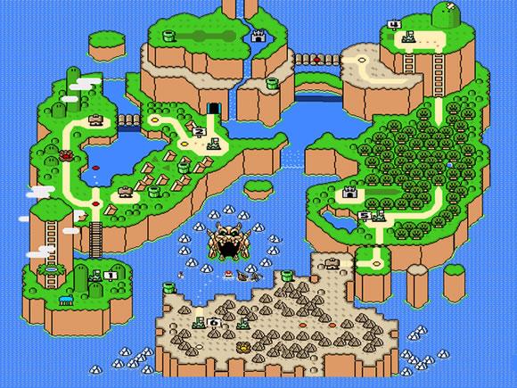 Super Mario World - SNES - Map