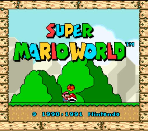 Super Mario World - Title Screen