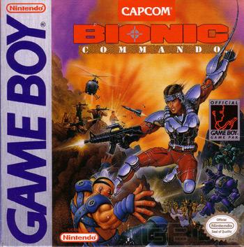 bionic commando gameboy