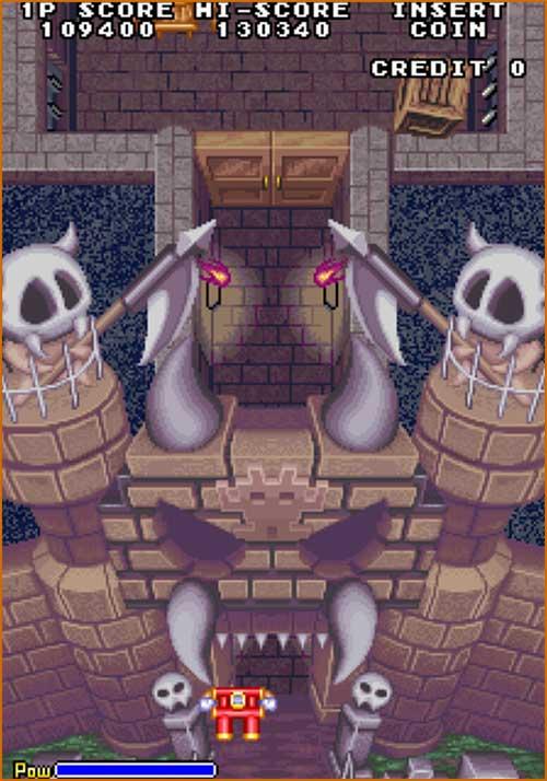 Akkanvader - Taito - 1985 - Space Invader Clone