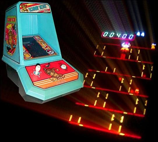 Coleco Mini-Arcades - Donkey Kong