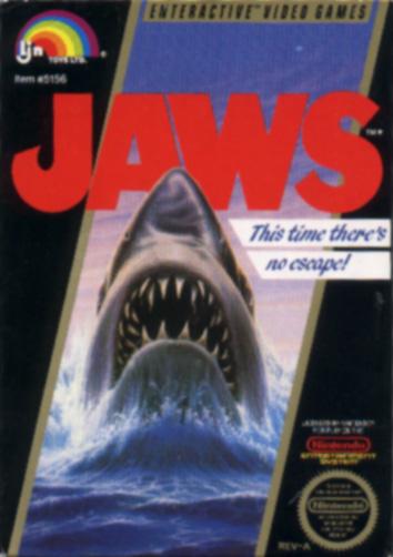 Jaws - NES - Gameplay Screenshot