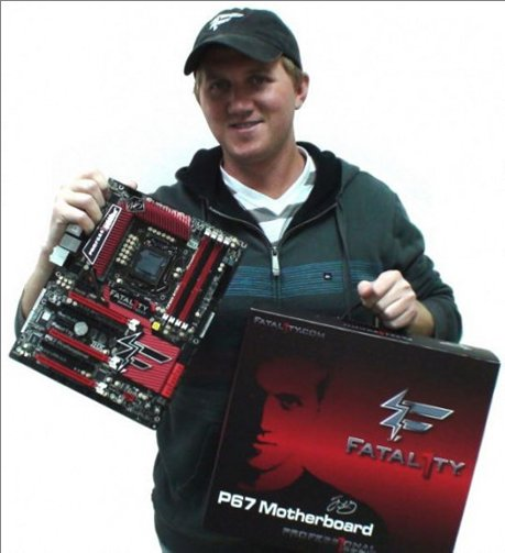 Johnathan Wendel -Fatal1ty - Motherboard