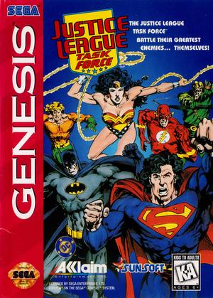 Justice League Task Force - Sega Genesis - Gameplay Screenshot