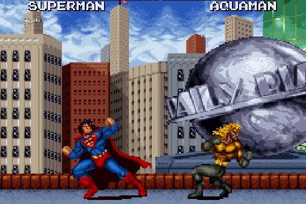 Justice League Task Force - Sega Genesis - Gameplay Screenshot