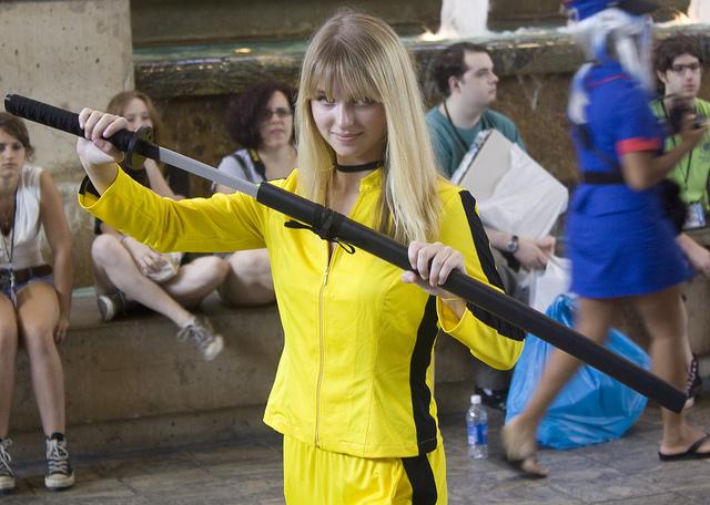 Kill Bill Cosplay Beatrix Kiddo Cosplay