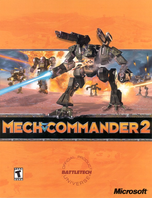 Mechcommander 2 box art cover