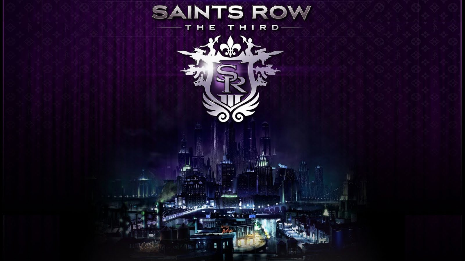 Saints Row 3 Cover