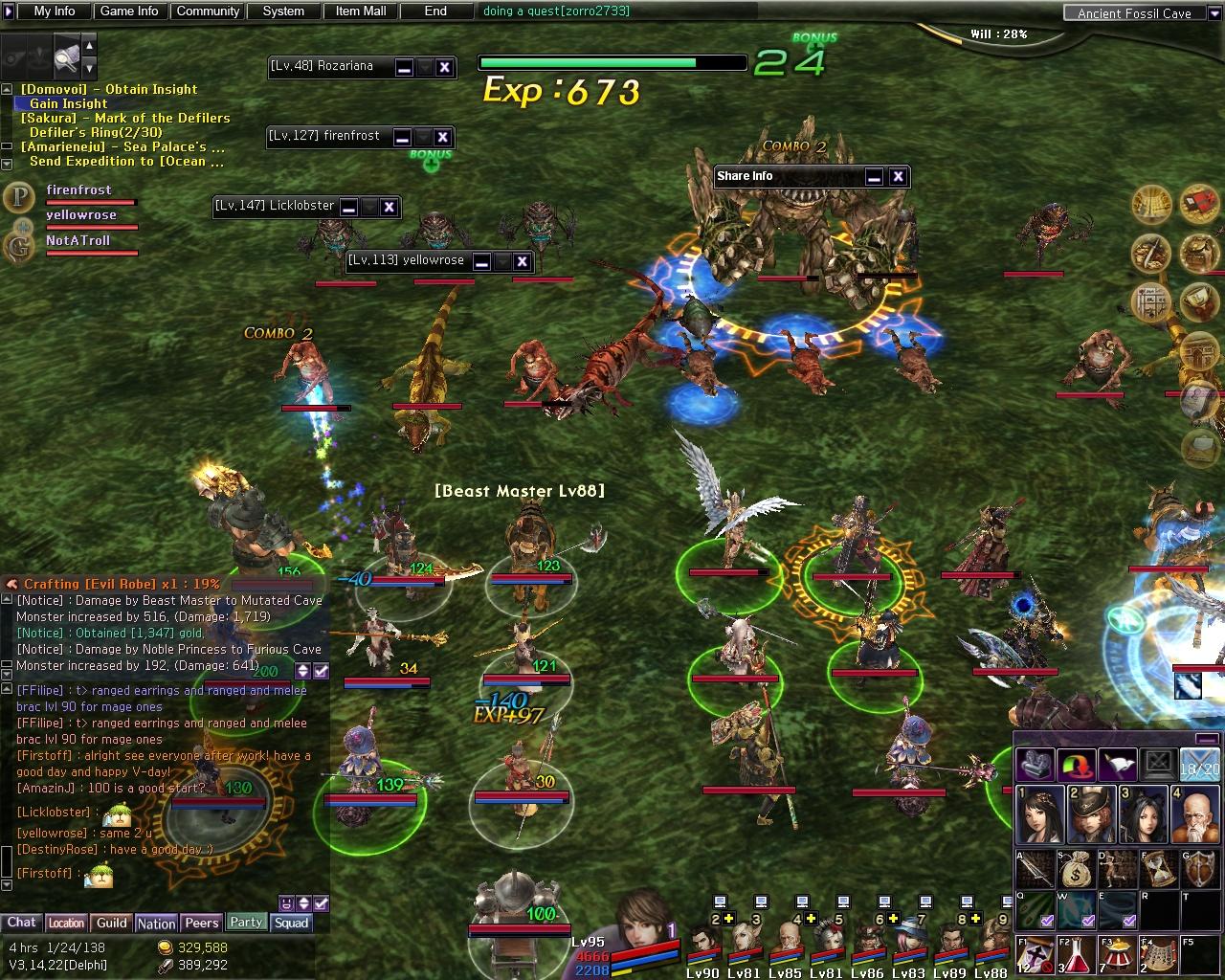 Atlantica Online screenshot