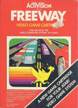 Freeway_Cover - Atari - 2600 - Gameplay Screenshot - 1