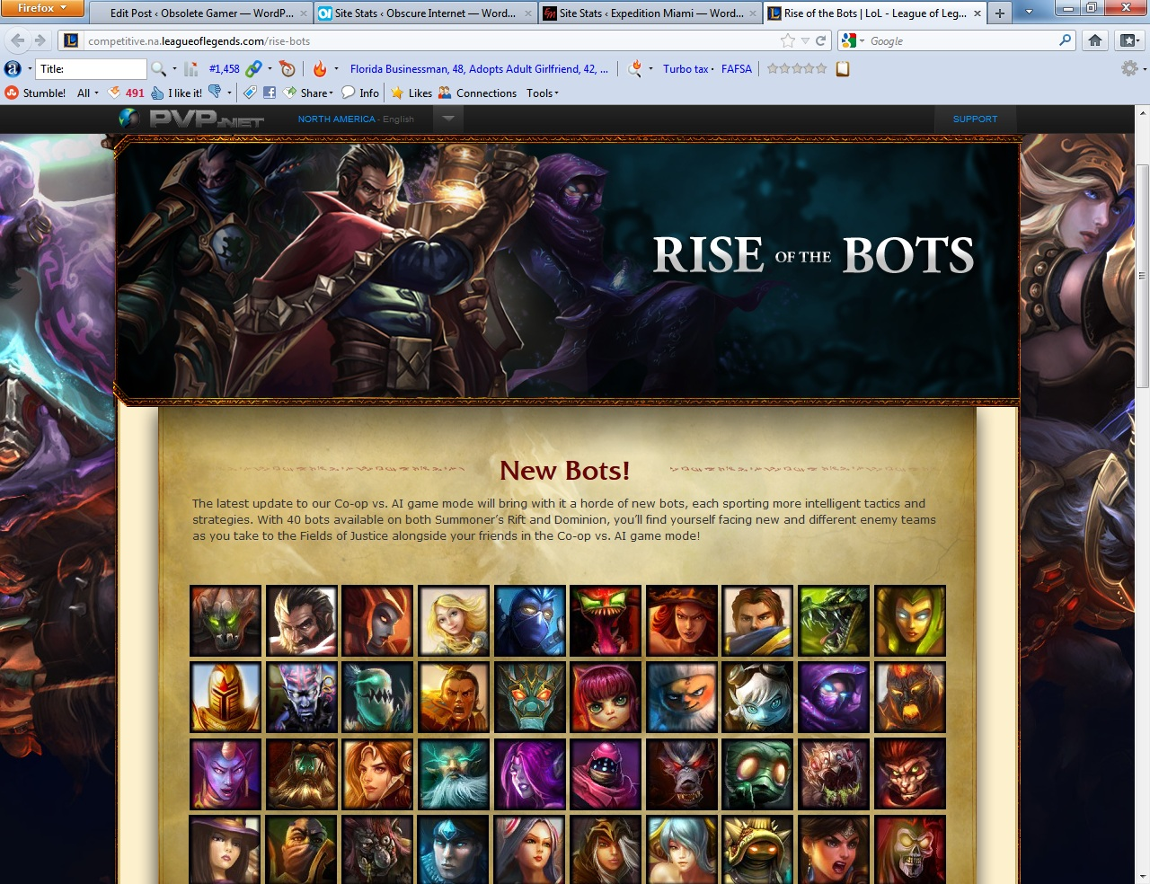 League of Legends Rise of the Bots