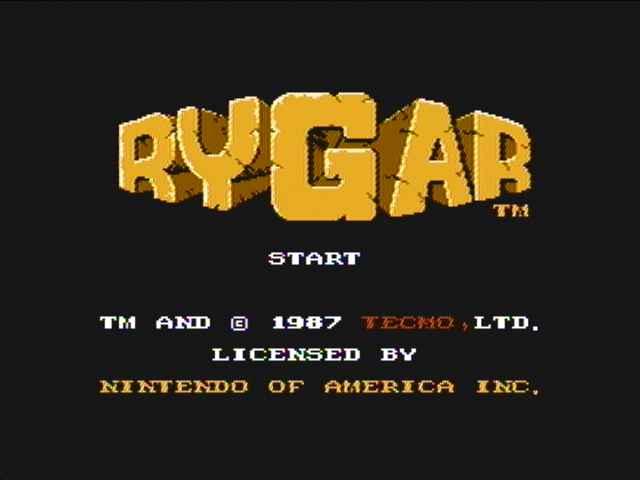 Rygar - NES - Gameplay Screenshot