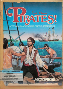 Sid Meiers - Pirates - PC - Gameplay screenshot