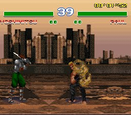 Tekken 2 - Bootleg games - SNES - Gameplay Screenshot