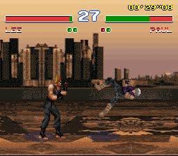 Tekken 2 - Bootleg games - SNES - Gameplay Screenshot