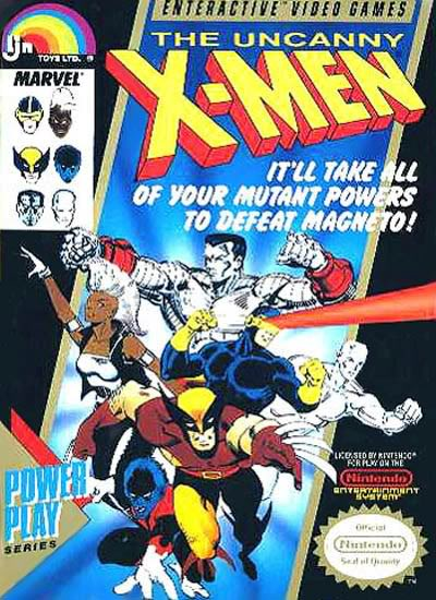 X-Men-The-Uncanny - NES - Gameplay Screenshot