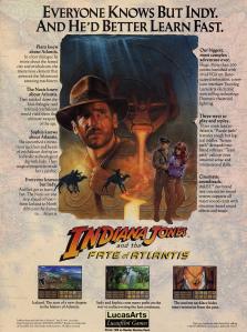 Indiana Jones and the Fate of Atlantis - PC - Gameplay Screenshot