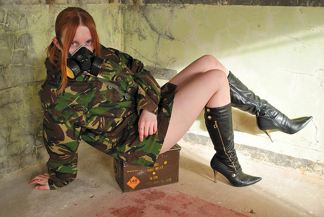 Military Cosplay Girl