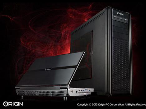 Origin PC professional systems