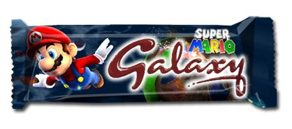 Super Mario Galaxy candy bar