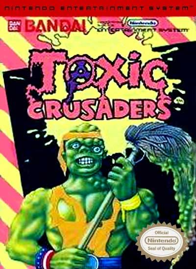 Toxic-Crusaders- nes - gameplay screenshot