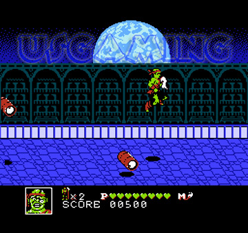 Toxic-Crusaders- nes - gameplay screenshot