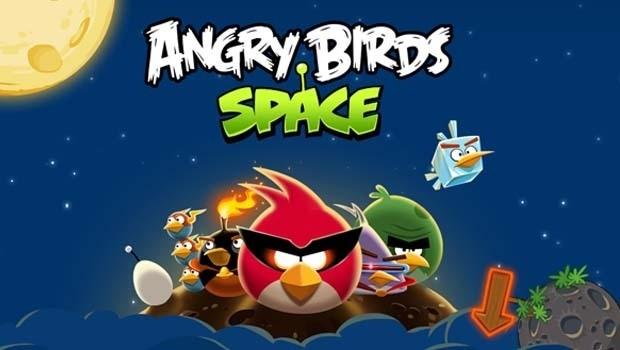 Angry Birds Space - Gameplay Screenshot