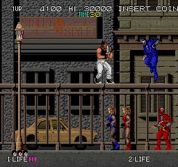 Bad Dudes - Gameplay Screenshot