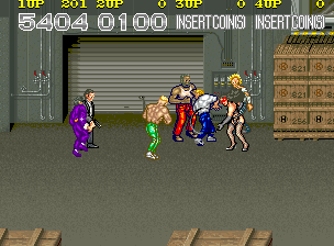 Crime Fighters - Konami - Arcade - Gameplay Screenshot