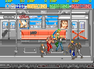 Crime Fighters - Konami - Arcade - Gameplay Screenshot