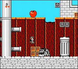 Disney's Chip 'n Dale Rescue Rangers - Gameplay Screenshot