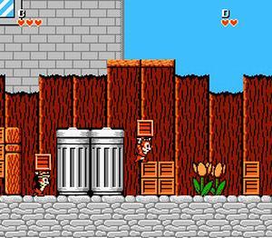 Disney's Chip 'n Dale Rescue Rangers - Gameplay Screenshot