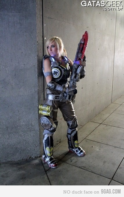 Maravilhosa Jessica Nigri- Gears of War