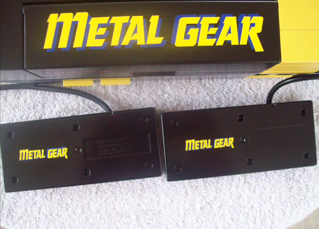 Metal Gear Themed moded nes