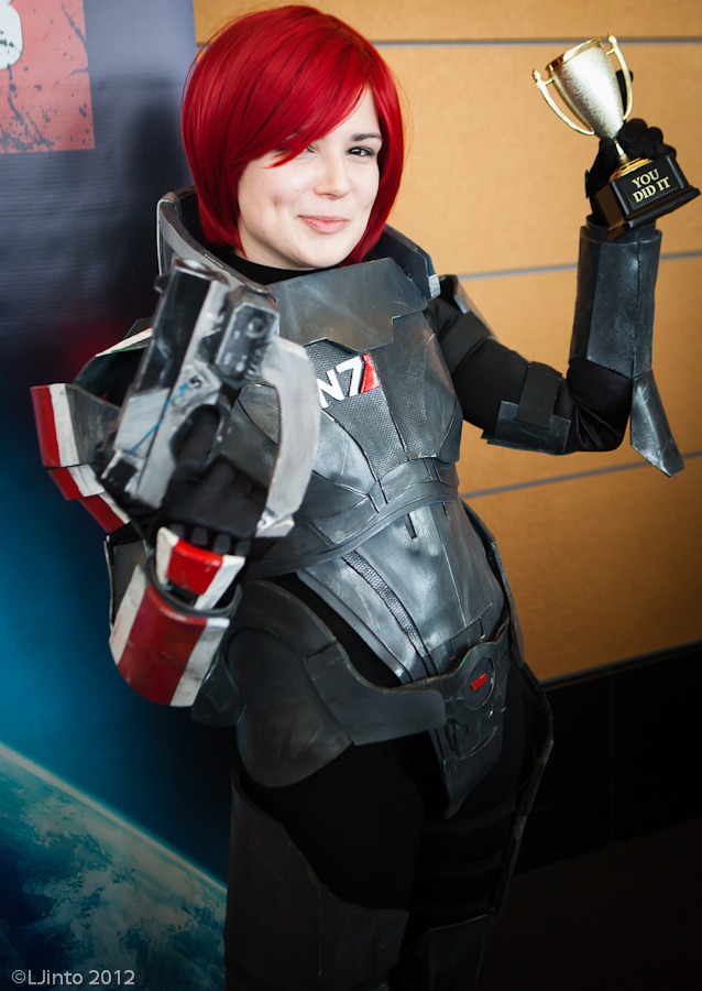 Pax East 2012 - Cosplay - Mass Effect 2