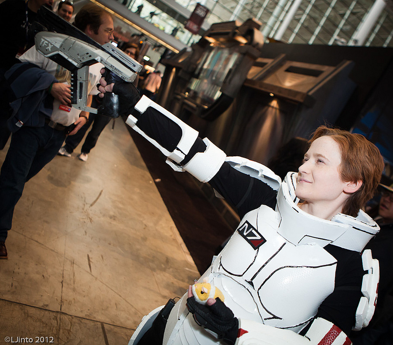 Pax East 2012 - Cosplay - Mass Effect 3