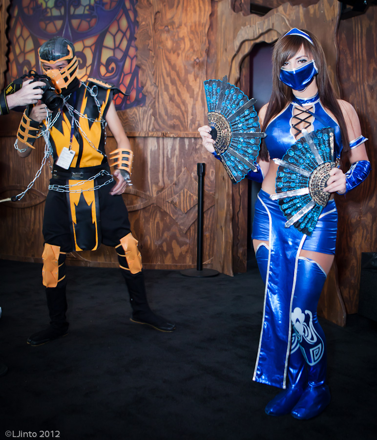 Pax East 2012 - Cosplay - Mortal Kombat