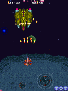 Truxton - Gameplay Screenshot