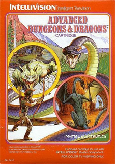 Advanced Dungeons and Dragons - Intellivision - Gameplay Screenshot