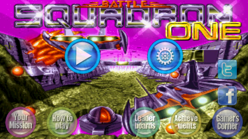 Battle Squadron - Gameplay Screenshot - Cover