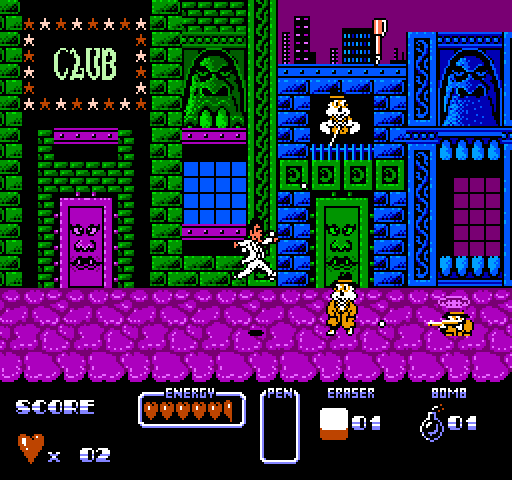 Cool_World_NES-Gameplay-screenshot