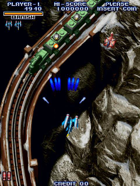 Cyvern - The Dragon Weapons - Kaneko - Gameplay Screenshot